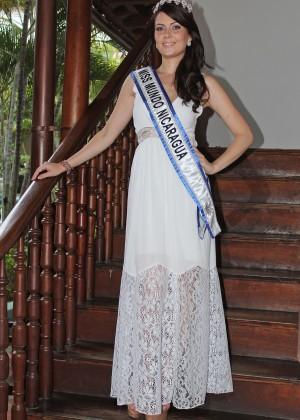 Лорен Лоусен мисс мира 2012 из Никарагуа