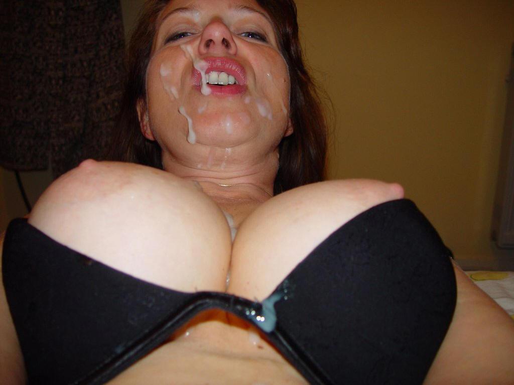 Фото большой и зрелой груди в сперме, фото жирных крупным планом