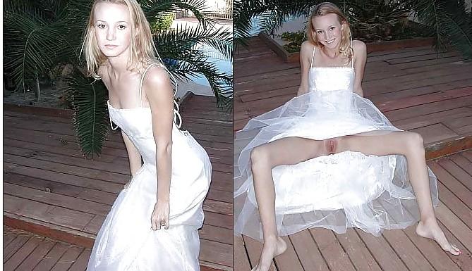 Biseual girls wedding pussyflash organ