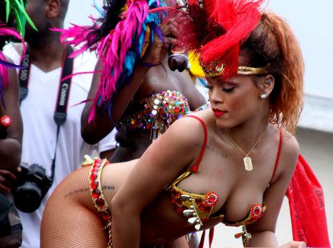 Rihanna nude reel pics carnaval — img 4