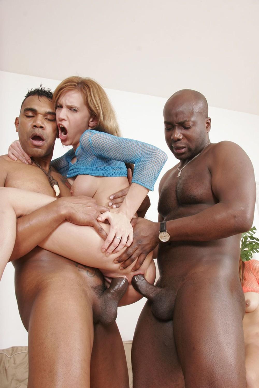 Bbw Interracial Threesome