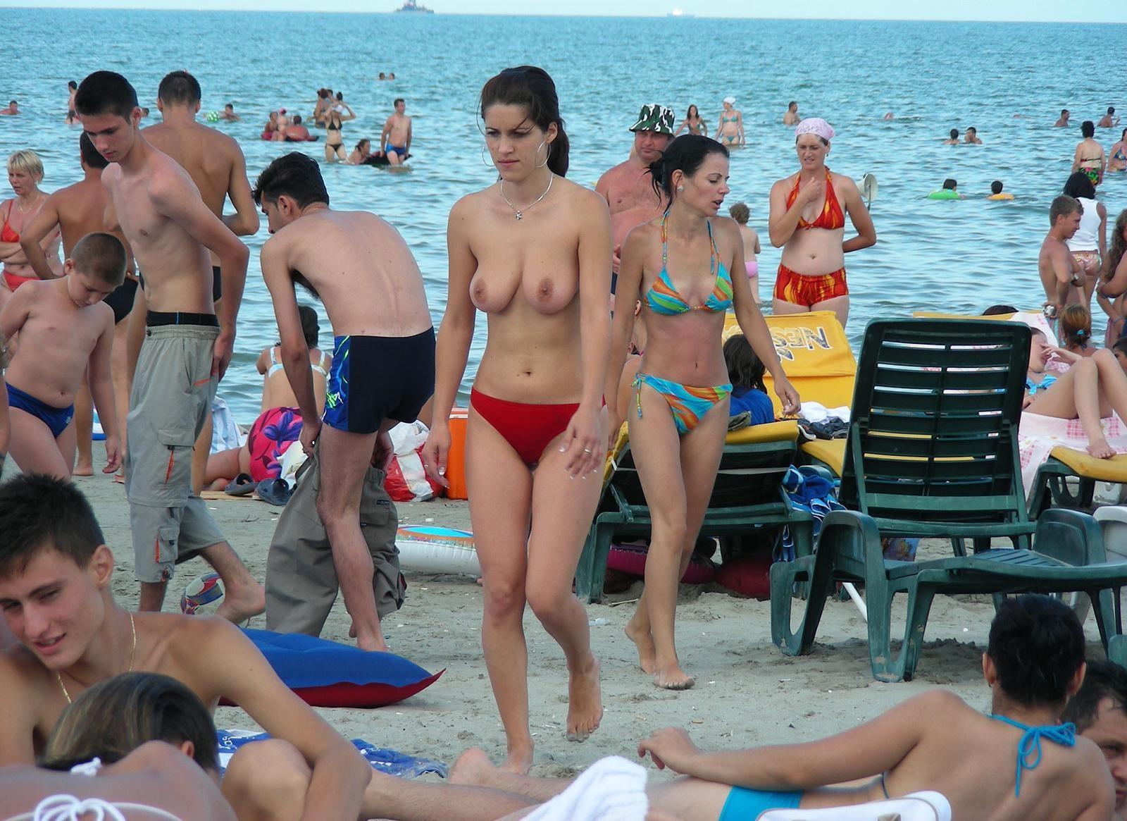 Пляжная эротика - компиляция 15