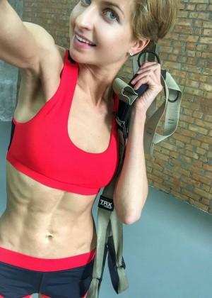 Украинская фитнесс модель Мирослава Ульянина