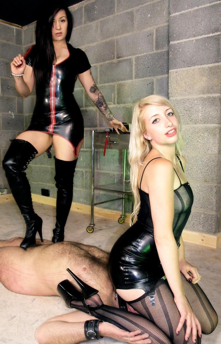 Slave 24/7 For A German Mistress
