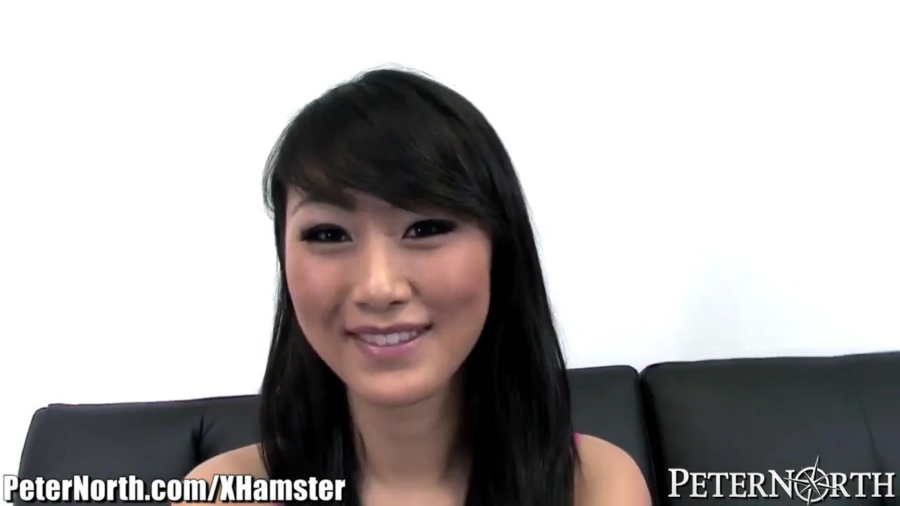 Минет от азиатки на кастинге