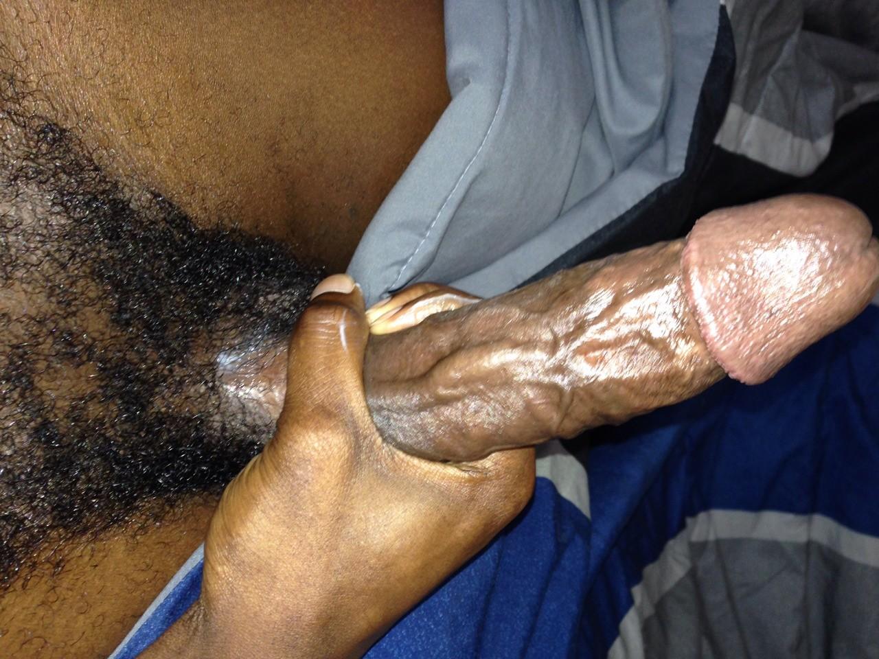 Small black dick blowjob