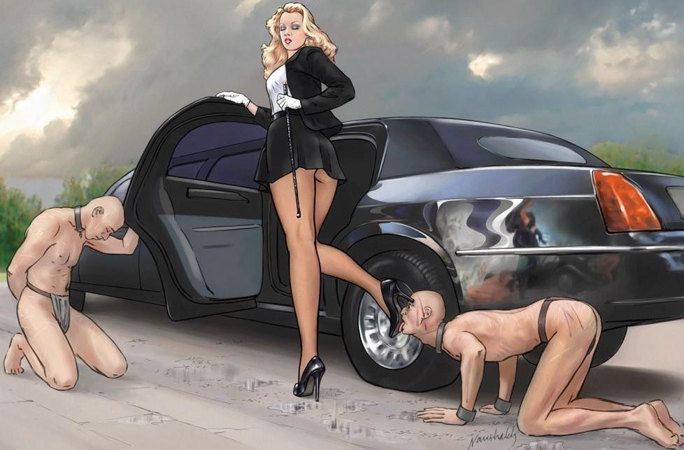 Доминантные дамы - компиляция 22