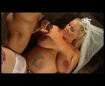Трахнул беременную толстую невесту во все дырки